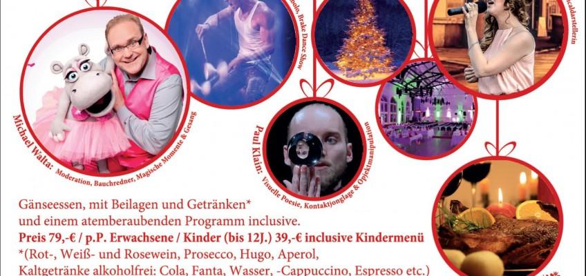 Plakat Weihnachtsvariete