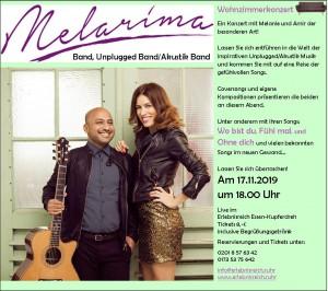 Plakat Melarima 17.11.2019